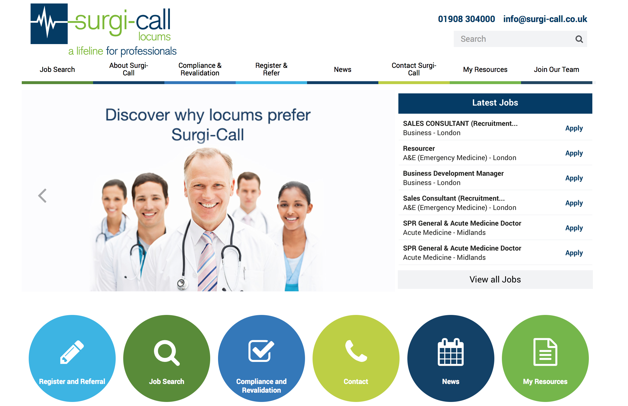Surgi-Call Launch New Website!